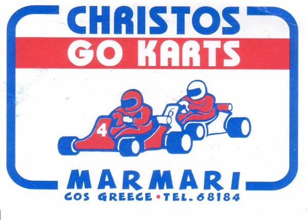Driving the best Go Karts in Marmari